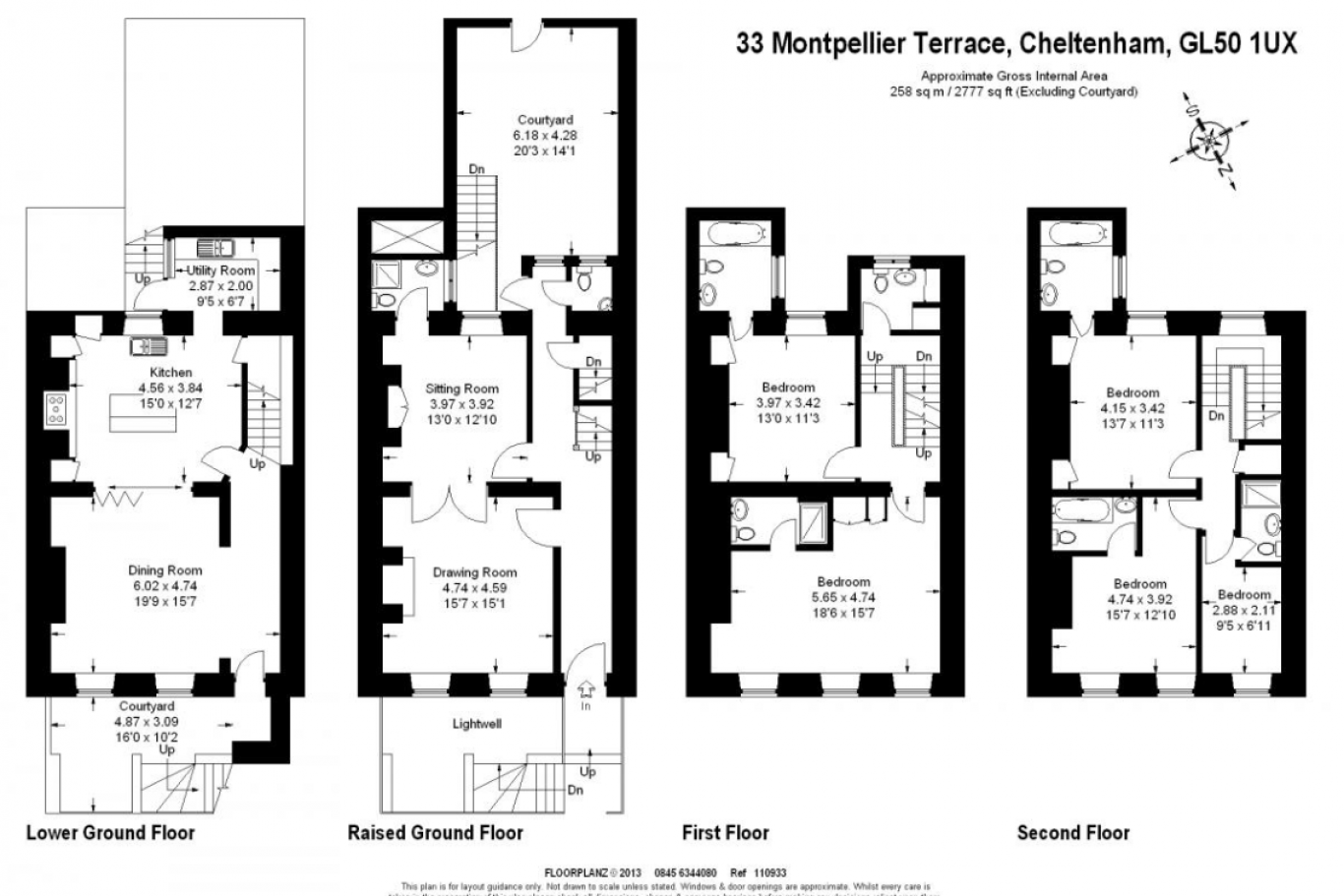 Montpellier house luxury serviced apartments for Regency house plans